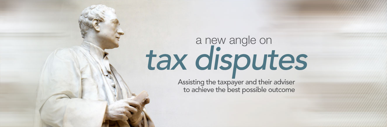A new angle on tax disputes